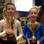 Jarraed & Saffron winning Standard final at Crown Championships April 2014